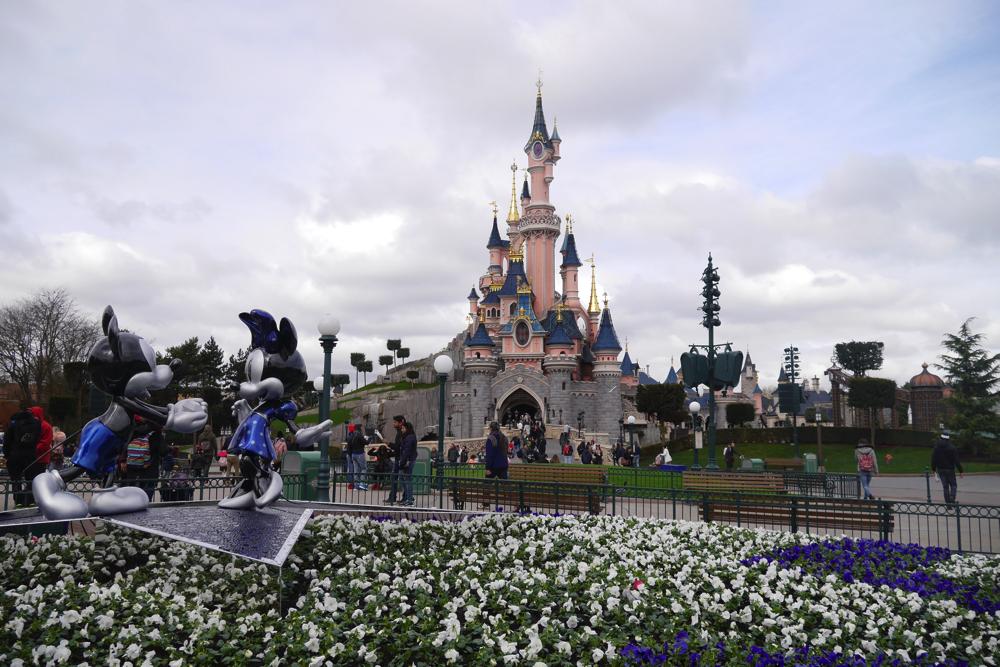 【DLP旅行記】ディズニーランドパリ!眠りの森の美女のお城へ!【イギリス・ロンドン旅行25】