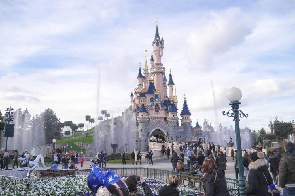 【DLP旅行記】噴水ショー&アラジンと魔法のパサージュ【イギリス・ロンドン旅行30】