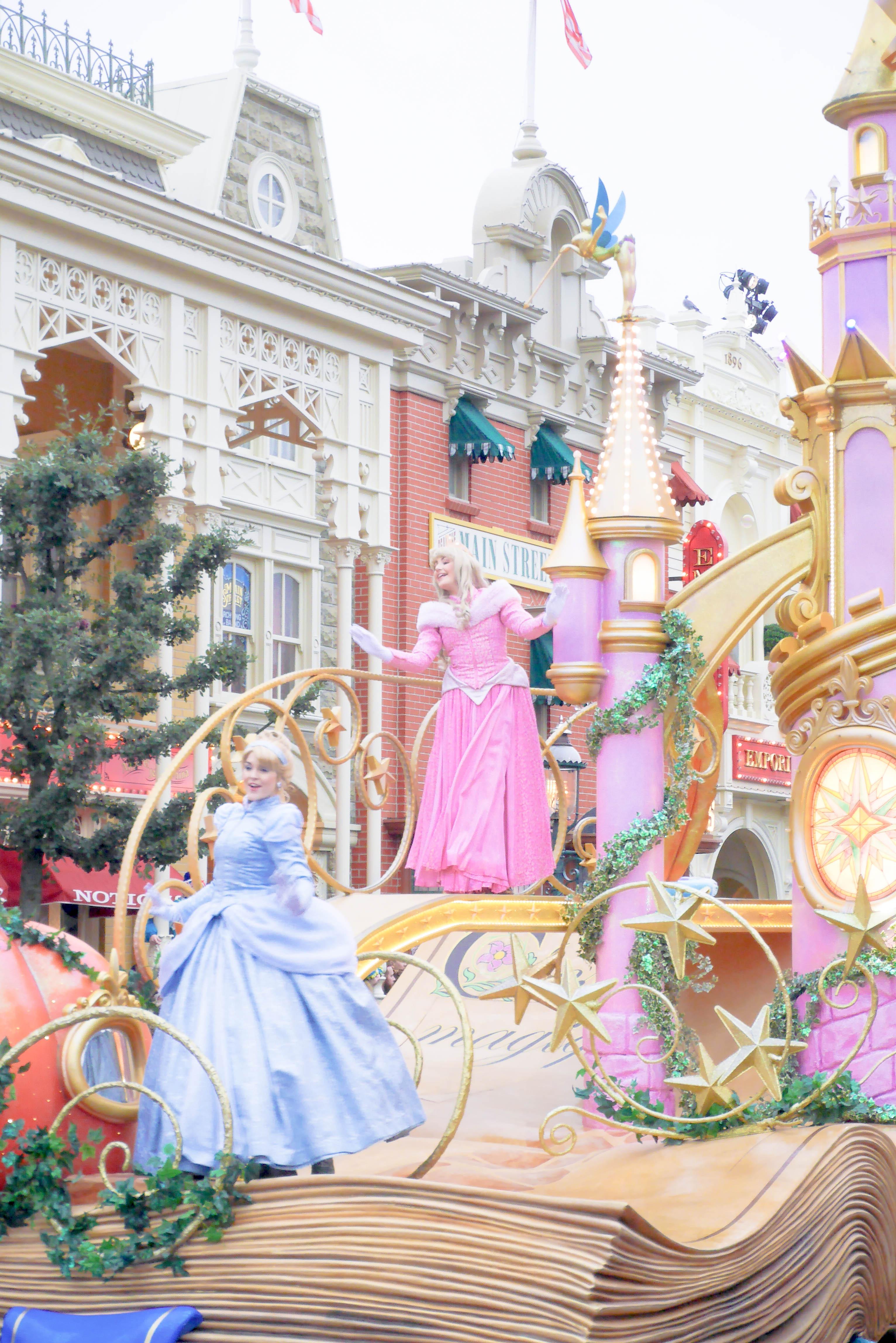 【DLP旅行記】ディズニー・マジック・オン・パレード!(Disney Magic on Parade !)【イギリス・ロンドン旅行31】