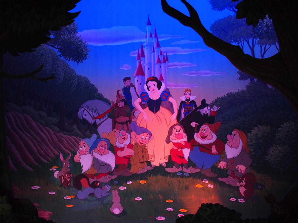 【DLP旅行記】ディズニーランドパリ白雪姫と7人のこびと【イギリス・ロンドン旅行26】