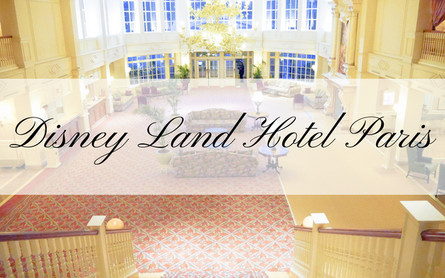 【DLP旅行記】ディズニーランド・ホテル(パリ)のお部屋紹介!【イギリス・ロンドン旅行32】